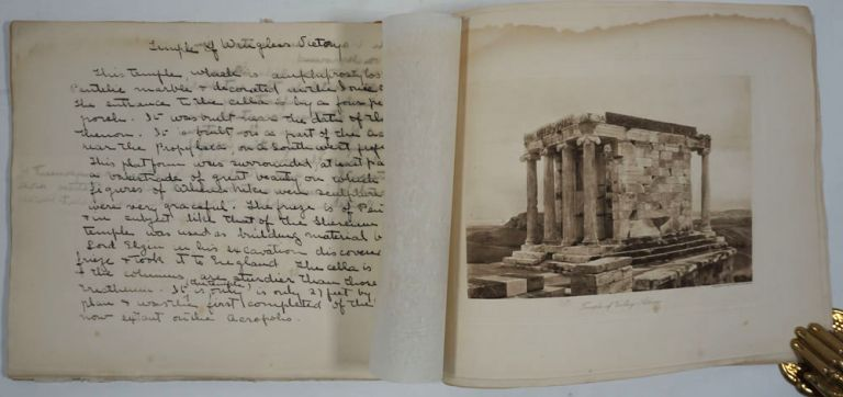 Classical Greek art album, with annotations throughout. Susan E. Goelet Drake.