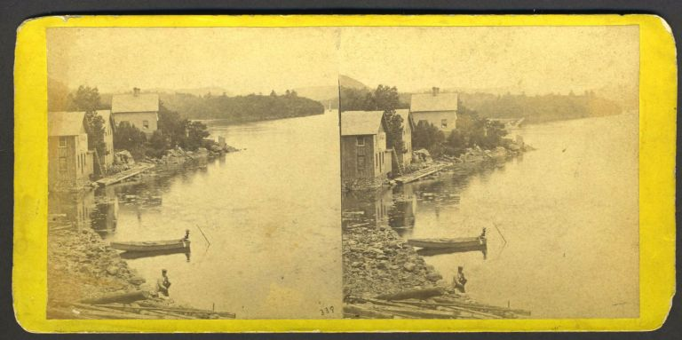 View from Garrison's, Looking South. E. Stereoview Anthony.