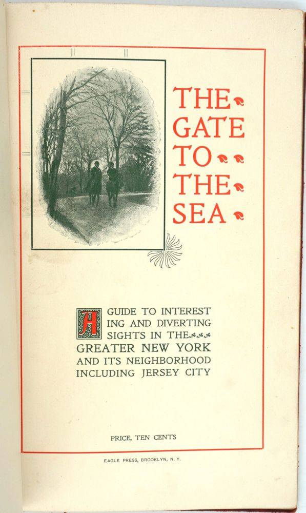 A Visitor's Guide to the Greater New York Jersey City and Suburbs. Herbert F. Gunnison, Jersey City George R. Hough, Chairman of the Publishing Committee.