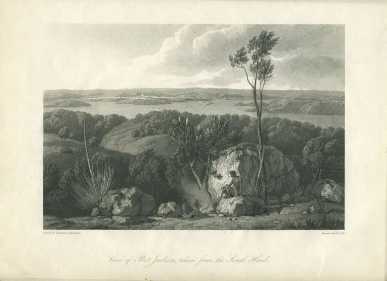 View of Port Jackson, taken from the South Head. William Westall, A. R. A. F. L. S., John Pye.