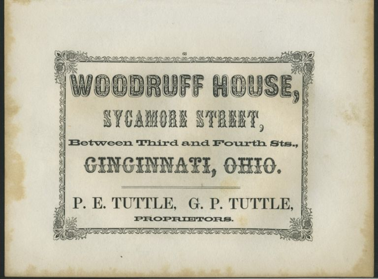 American Commercial Advertising - Woodruff House.