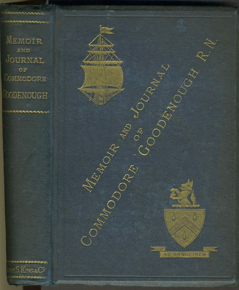 Journal of Commodore Goodenough. James Graham Goodenough.