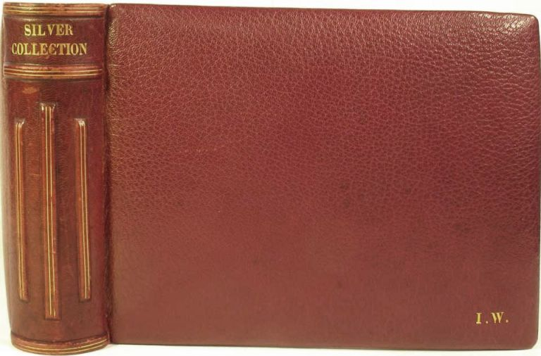 Photograph album of an Important Silver Collection. Paul Lamerie, other renowned silversmiths.