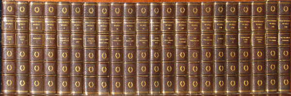 Complete Works of William Makepeace Thackeray. Complete 22 volume set. William Makepeace Thackeray.