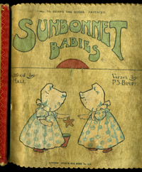 Sunbonnet Babies. No. 78 Dean's Rag Books. Pictures P.S. Bruff Verses, pictured by G. Hall. P. S. Bruff, G. Hall.