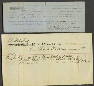 Promissory note from the Petersburg Railroad Co, to pay Tho. Harrison $900 for the hire of 3...