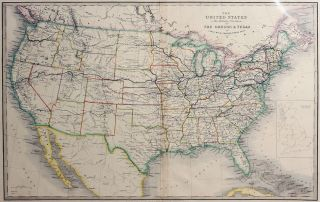 The United States and the Relative Position of the Oregon and Texas. James Wyld