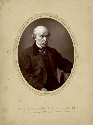 Photograph of Sir William Jenner, Bart., K.C.B., M.D., F.R.S. Sir William Jenner