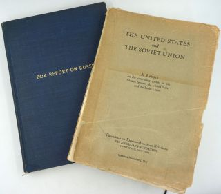 The United States and the Soviet Union. Unrevised proof (and copy of published version). Curtis Bok