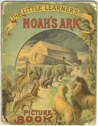 Little Learner's Noah's Ark Picture Book. Kangaroos, Religious Tract Society