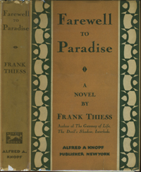 Farewell to Paradise. Frank Theiss
