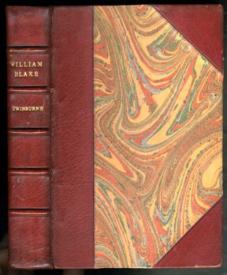 William Blake. Fine binding. Algernon Charles Swinburne