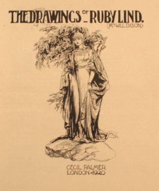 Drawings of Ruby Lind. (Mrs. Will Dyson). 1887 - 1919.