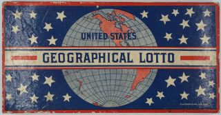 Geographical Lotto. O. Newmann, Co