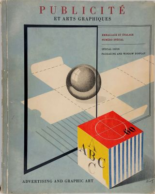Emballage et Etalage - Packaging and Window Display 1947. Special Issue. Advertising, Window...