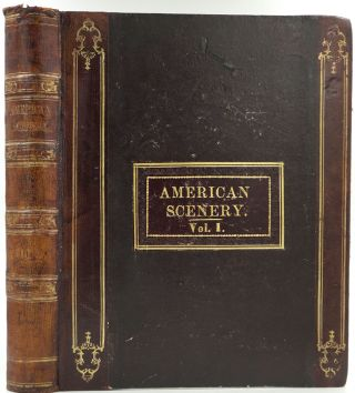 American Scenery; or, Land, Lake, and River Illustrations of Transatlantic Nature, Volume I only....