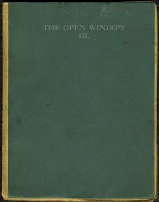 """A Fairy Story"", in literary magazine, Open Window, Issue III. Katherine Mansfield"