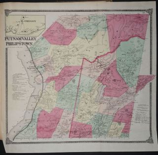 Atlas of New York and Vicinity. F. W. Beers, Geo. Warner. A. D. Ellis, G G. Soule`