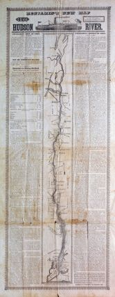 Benjamin's New Map of the Hudson River. J. P. of the Steam-Boat Troy Benjamin