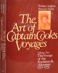 The Art of Captain Cook's Voyages. Volume II, 2nd Voyage. Rudiger Joppien, Bernard Smith