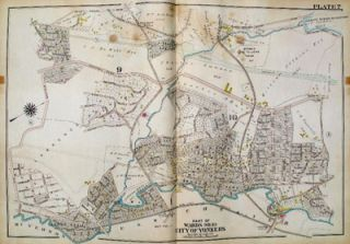 City of Yonkers, Wards 9 & 10. George W. Bromley, Walter S