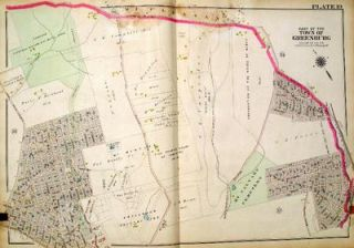 Part of the Town of Greenburg (Plate 19, includes Elmsford and North White Plains). George W....