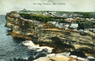 The Gap, Watson's Bay, Sydney. Postcard