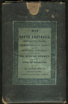 Map of South Australia, New South Wales, Van Dieman's Land and the Swan River Settlement, with...