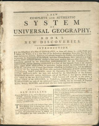 A New Complete and Authentic System of Universal Geography, Book I. New Discoveries, Chapter I. ...