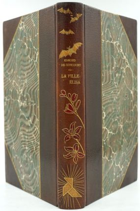 La Fille Elisa [with] 8pp prospectus and an original illustration bound in. Edmond de Goncourt