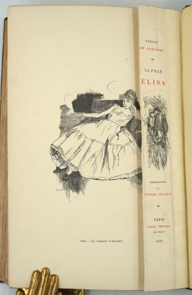 La Fille Elisa [with] 8pp prospectus and an original illustration bound in.