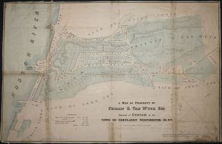 A Map of Property of Phillip G. Van Wyck Esq. Situated at Croton in the Town of Cortlandt...