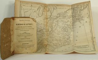 A Geography for the Use of Schools, Illustrated with an Atlas of Seven Maps, bound separately....