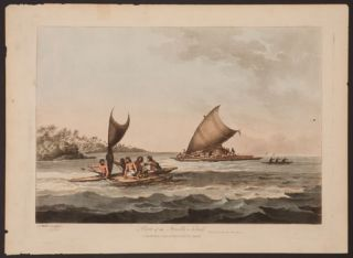 Boats of the Friendly Islands. John Webber