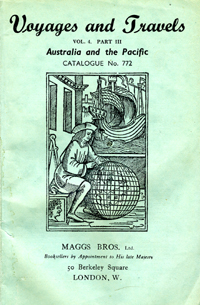 Voyages and Travels, Australia and the Pacific, Catalogue No. 772. Maggs Bros