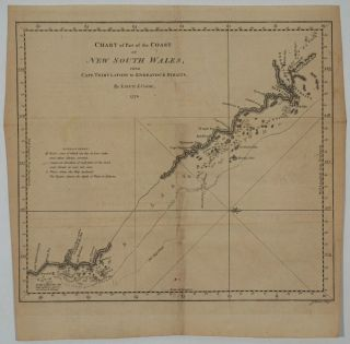 Chart of Part of the Coast of New South Wales from Cape Tribulation to Endeavour Straits. By...