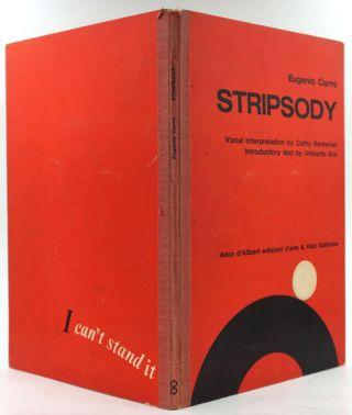 Stripsody. Eugenio. Umberto Eco Carmi, Introductory text. Vocal, Cathy Beberian