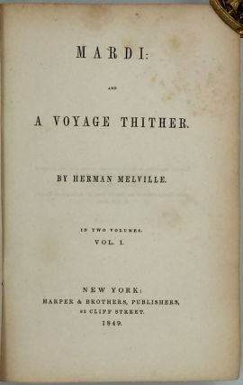 Mardi: And A Voyage Thither.