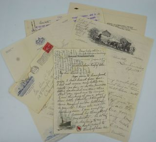 A correspondence between Mamie Seward Robertson York, of Texas to her daughter & son-in-law, Laura & Benjamin Moorman of Covington, Virginia, on a round the world cruise in 1928. China, Mamie Seward Robertson York.