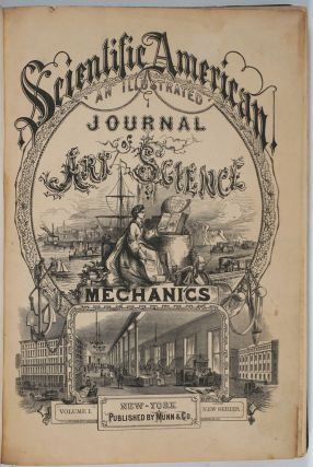 Scientific American, An Illustrated Journal of Art, Science & Mechanics, First issue, 1859