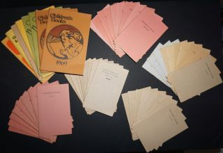 'Children's Books Suggested as Holiday Gifts', run of 48 catalogues, 1927 - 1973