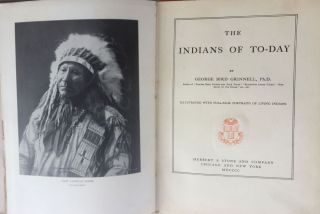 The Indians of To-Day.