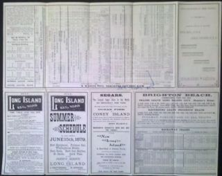 1879 Long Island RR Summer Schedule