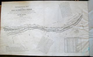 Topographical map of the road from Missouri to Oregon, commencing at the mouth of the Kansas in the Missouri River and ending at the mouth of the Wallah Wallah in the Columbia, in VII sections : from the field notes and journal of Capt. J.C. Fremont, and from sketches and notes made on the ground by his assistant Charles Preuss ; compiled by Charles Preuss, 1846, by order of the Senate of the United States.
