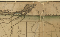Map of the Northern Part of the State of New York Compiled from actual Survey by Amos Lay & Arthur J. Stansbury 1801.