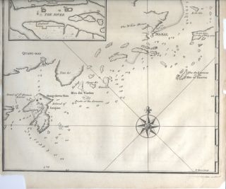 A Chart of the entrance into Kanton from the Sea. Humbly Inscribed to the Rt. Honourable Lord...