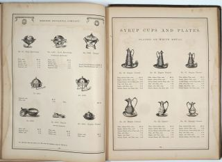 Illustrated Catalogue and Price List of Heavily Plated Goods Manufactured by the Meriden Britannia Co. West Meriden, Conn.