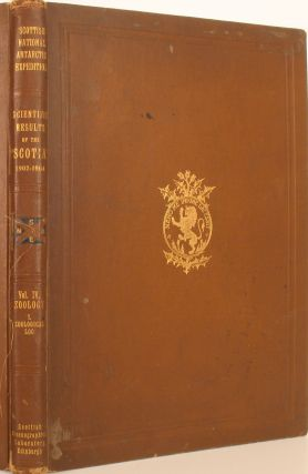 Report on the Scientific Results of the Voyage of S.Y. Scotia during the Years 1902, 1903 & 1904...