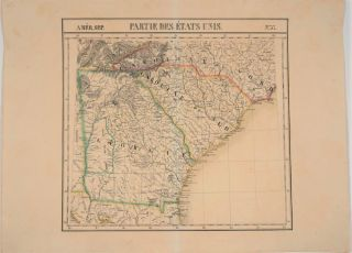 Partie De Etats Unis, Amer. Sep. No. 57 (Georgia, South Carolina, North Carolina & Northern...