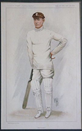 """Test Cricket"". J. B. Hobbs. Vanity Fair Supplement. Men of the Day. No. 2283. Cricket"